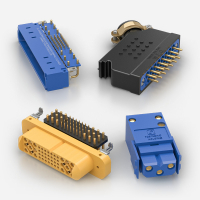 Rack and Panel Electrical Connectors from Positronic ITW McMurdo and Weald Electronics