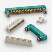 BS9525-Spec PCB 2mm pitch Rectangular Connectors Manufactured by ITW McMurdo
