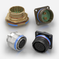 D38999 / MIL-DTL-38999 Circular Military Connectors Series I and III manufactured by Souriau