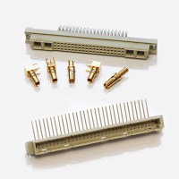 DIN 41612 electrical PCB connectors