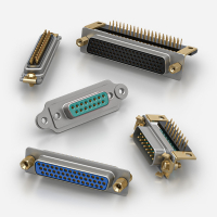 MIL-DTL-24308 D-Sub Connectors Sub-Miniture manufactured by Positronic and ITW McMurdo