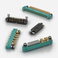 MIL-DTL-55302 Spec PCB or Crimp Rectangular Connectors / 801CX ITW McMurdo and CMM Nicomatic