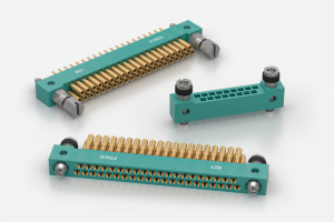 MIL-C-55302 ITW McMurdo 801 Series PCB Connectors with Crimp Contacts