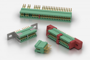 "ITW McMurdo / Weald Board To Board PCB Edge Connectors with 0.1""/2.54mm Pitch"