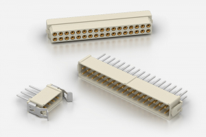 ITW McMurdo MICRONECTOR 200 / M200 - Two Row 2mm Pitch Connectors Designed to meet BS9525 F0033