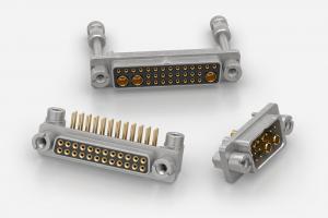 Nicomatic DMM Series MIL-DTL-83513G D-Sub 2mm pitch Connectors