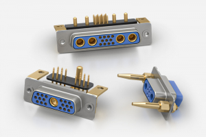 Positronic High Density Combo D-Sub Connectors Series CBDD, CBHD, CBCD