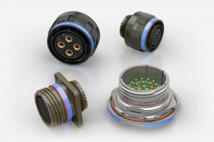 Souriau 8D / D38999 / MIL-DTL-38999 Series III Aluminium Circular Connectors
