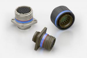Souriau 8D / D38999 / MIL-DTL-38999 Series III Lightweight Composite Connectors