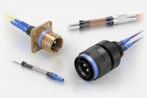 Souriau D38999 / MIL-DTL-38999 Series III ELIO Fibre Optic Connectors