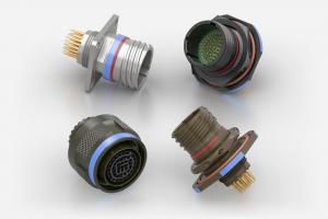 Souriau MIL-DTL-38999 / D38999 High Density / HD 09-12, 11-26, 13-43, 15-68 connectors