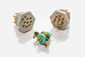 Positronic GH, LGH, MGH Series Miniature and Microminiature Connectors