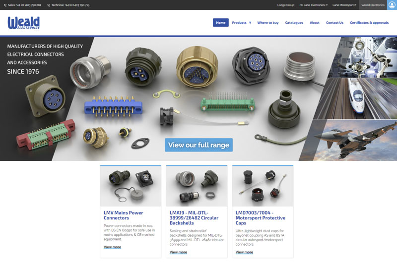 Weald Electronics Website